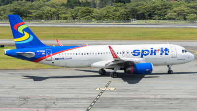 N637NK - Airbus A320-232 - Spirit Airlines