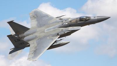 86-0163 - McDonnell Douglas F-15C Eagle - United States - US Air Force (USAF)