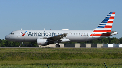 A picture of N105UW - Airbus A320214 - American Airlines - © DJ Reed - OPShots Photo Team