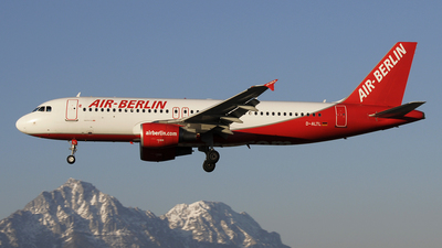 D-ALTL - Airbus A320-214 - Air Berlin