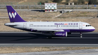B-6413 - Airbus A319-133 - West Air