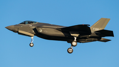 F-010 - Lockheed Martin F-35A Lightning II - Netherlands - Royal Air Force