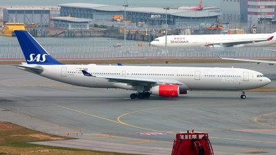 LN-RKR - Airbus A330-343 - Scandinavian Airlines (SAS)