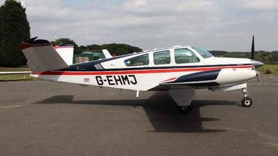 A picture of GEHMJ - Beech S35 Bonanza - [D7879] - © Ian Johnson