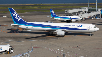 A picture of JA607A - Boeing 767381(ER) - All Nippon Airways - © Yukemaro