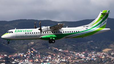 A picture of ECMIF - ATR 72600 - Binter Canarias - © Pablo Marín