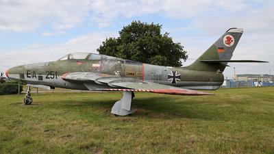 EB-250 - Republic RF-84F Thunderflash - Germany - Air Force