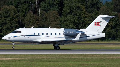 C-215 - Bombardier CL-600-2B16 Challenger 604 - Denmark - Air Force