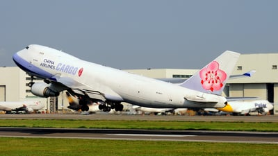B-18721 - Boeing 747-409F(SCD) - China Airlines Cargo