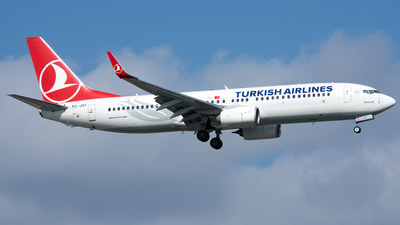 TC-JVI - Boeing 737-8F2 - Turkish Airlines