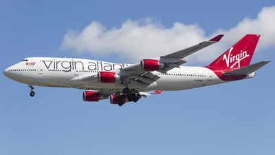 G-VROM - Boeing 747-443 - Virgin Atlantic Airways