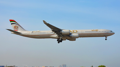 A6-EHL - Airbus A340-642 - Etihad Airways