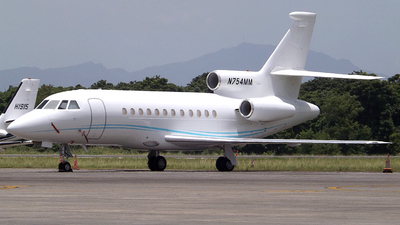 N754MM - Dassault Falcon 900 - Private