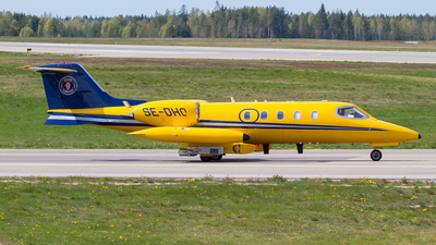 SE-DHO - Gates Learjet 35A - Saab Nyge Aero