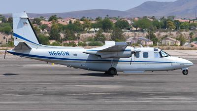 N66GW - Aero Commander 690 - Private