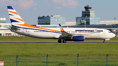 OK-TVO - Boeing 737-8CX - SmartWings