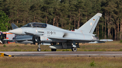 30-71 - Eurofighter Typhoon EF2000(T) - Germany - Air Force