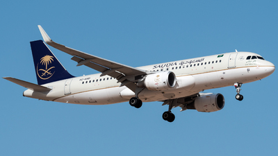 HZ-AS61 - Airbus A320-214 - Saudi Arabian Airlines