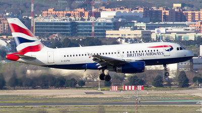 A picture of GEUPW - Airbus A319131 - British Airways - © Alejandro Gutierrez Martin