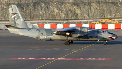 LZ-ABR - Antonov An-26B - Air Bright