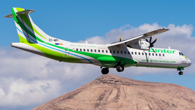 EC-MPI - ATR 72-212A(600) - Binter Canarias (Canarias Airlines)