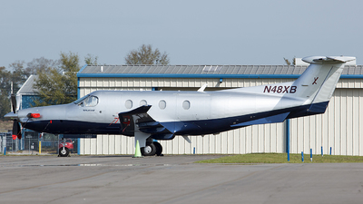 A picture of N48XB - Pilatus PC12/47E - [1459] - © Orlando Suarez