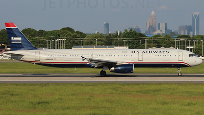 N563UW - Airbus A321-231 - US Airways