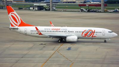 PR-GTU - Boeing 737-8EH - GOL Linhas Aereas