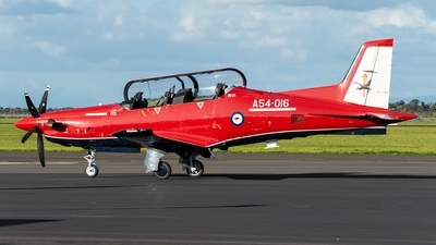 A54-016 - Pilatus PC-21 - Australia - Royal Australian Air Force (RAAF)