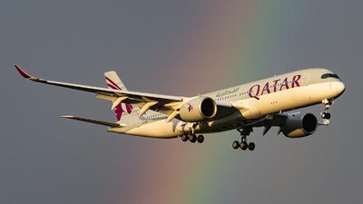 A picture of A7AMK - Airbus A350941 - Qatar Airways - © Steve Worner