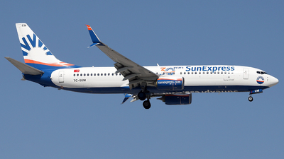 A picture of TCSEM - Boeing 7378HC - SunExpress - © Firat Cimenli
