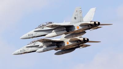 CE.15-11 - McDonnell Douglas EF-18B Hornet - Spain - Air Force