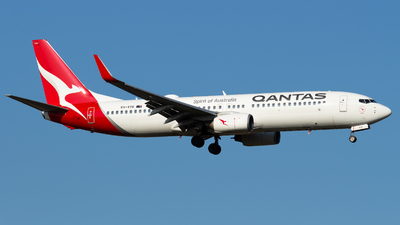 A picture of VHVYK - Boeing 737838 - Qantas - © Leon Aviation
