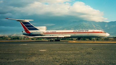 CU-T1222 - Tupolev Tu-154B-2 - Cubana de Aviación