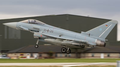 31-20 - Eurofighter Typhoon EF2000 - Germany - Air Force