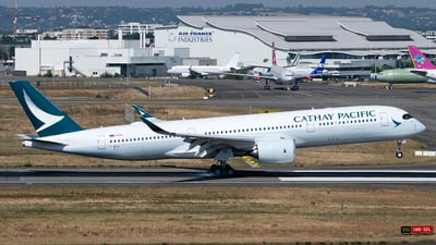 F-WZGE - Airbus A350-941 - Cathay Pacific Airways