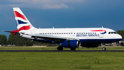 A picture of GEUPW - Airbus A319131 - British Airways - © Martin Rogosz