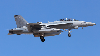168252 - Boeing EA-18G Growler  - United States - US Navy (USN)
