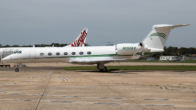 N550KR - Gulfstream G550 - Private