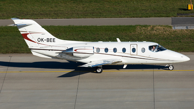 A picture of OKBEE - Hawker Beechcraft 400XP -  - © John Richard