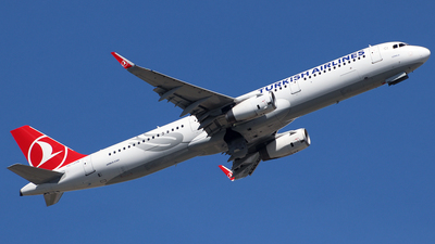 TC-JTK - Airbus A321-231 - Turkish Airlines