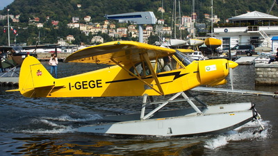I-GEGE - Piper PA-18-150 Super Cub - Aero Club - Como