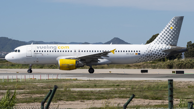 A picture of ECKJD - Airbus A320216 - Vueling - © Eduardo Seijo