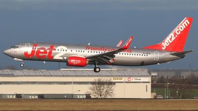 G-JZHS - Boeing 737-8MG - Jet2.com