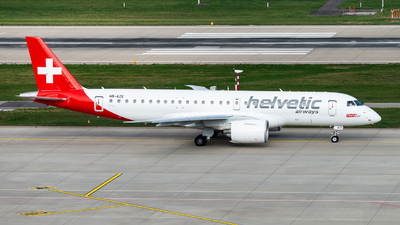 A picture of HBAZE - Embraer E190E2 - Helvetic Airways - © Thierry Weber