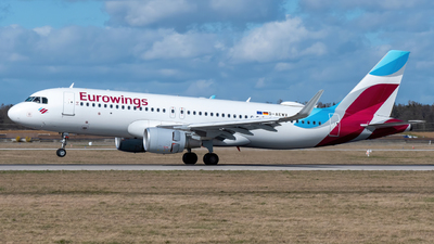 A picture of DAEWV - Airbus A320214 - Eurowings - © marfi80