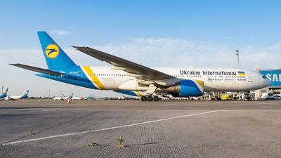 A picture of URGOA - Boeing 7772Q8(ER) - Ukraine Int. Airlines - © Oleksandr Smerychansky