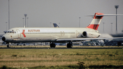 OE-LDS - McDonnell Douglas MD-81 - Austrian Airlines
