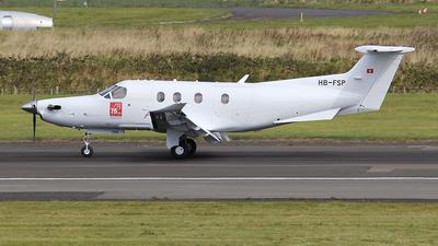 A picture of HBFSP - Pilatus PC12/47E -  - © Ian Howat