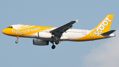9V-TRE - Airbus A320-212 - Scoot